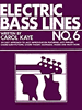 Electric Bass Lines No. 6 Book