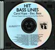 Hit Bass Lines: Carol Kaye CD